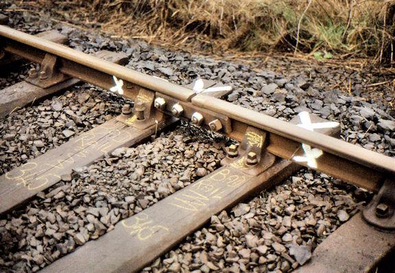 Railway track, Cromore (2)