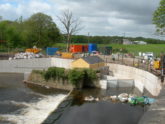 Otterspool Weir - Archimedes Screw