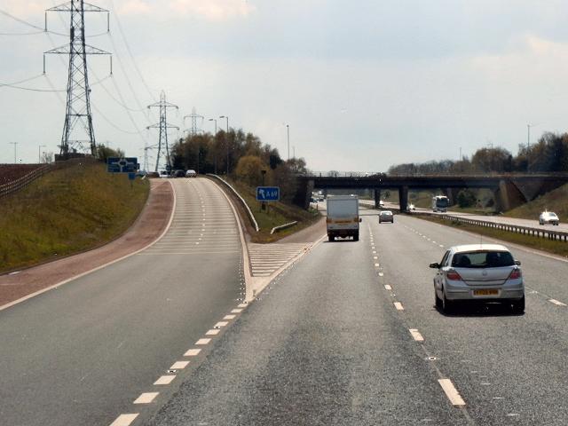 M6 Junction 43