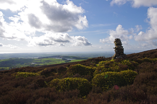 Cairn, Oakenclough Fell