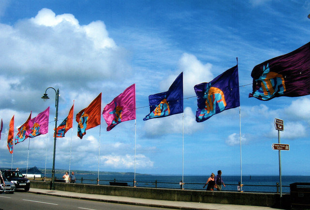 Flags For 2007 Golowan Festival, Penzance