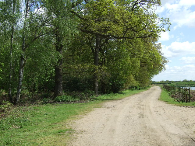 Track to quarry off Swinderby Road