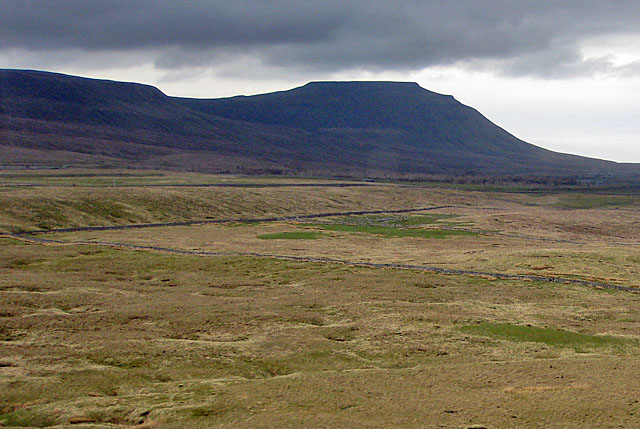 A brooding Ingleborough
