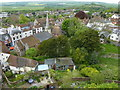 TQ4110 : Lewes viewed from Lewes Castle by pam fray