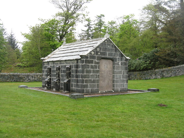 The Macquarie Mausoleum at Gruline