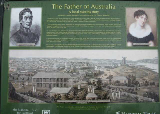 The 'Father of Australia'