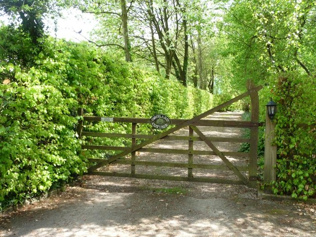 Entrance to Orchard Cottage, Plumley Moor
