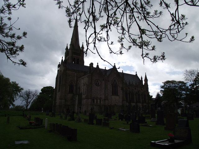 Walshaw parish church and graveyard