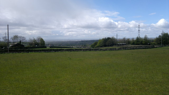 View towards Manchester