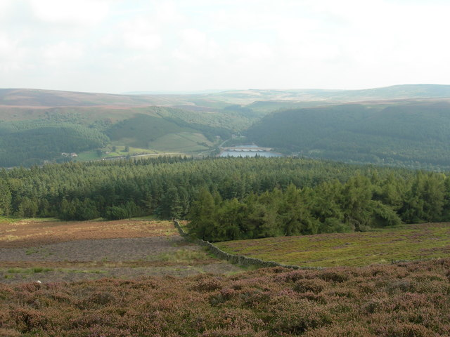 North East View from Win Hill