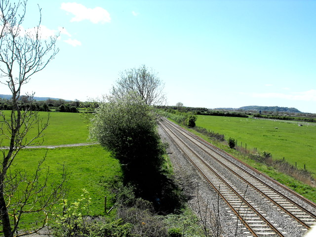 The main West coast  railway line