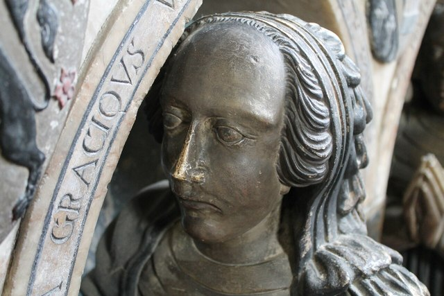 Manners daughter, memorial, All Saints' church, Bakewell