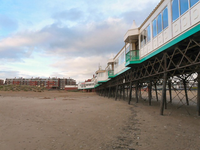 The North side of St Annes Pier