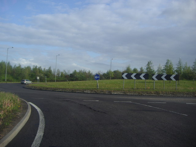 Roundabout on the A131, Little Leighs