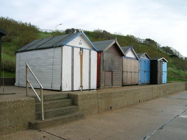 Beach huts, Holland-on-Sea