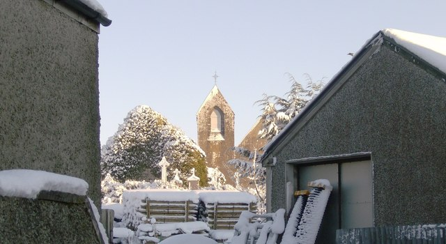 Mayo Abbey, St Colmans Famine Church