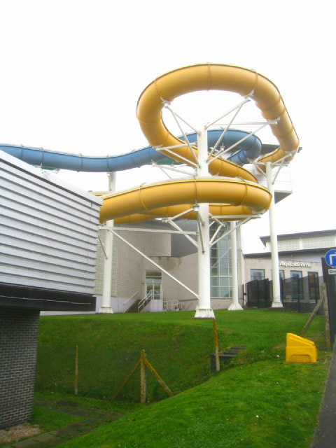 Aquadrome water slides