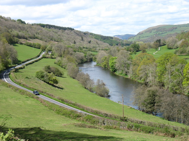 The River Wye, looking upstream