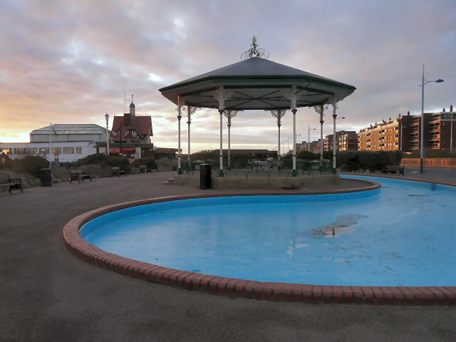 Paddling pool and Bandstand