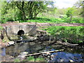 SO9983 : Stream Joining the Bourn Brook, Woodgate Valley Country Park by Roy Hughes