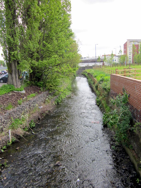 Grange Road Bridge to University Over The Bourn Brook, Selly Oak