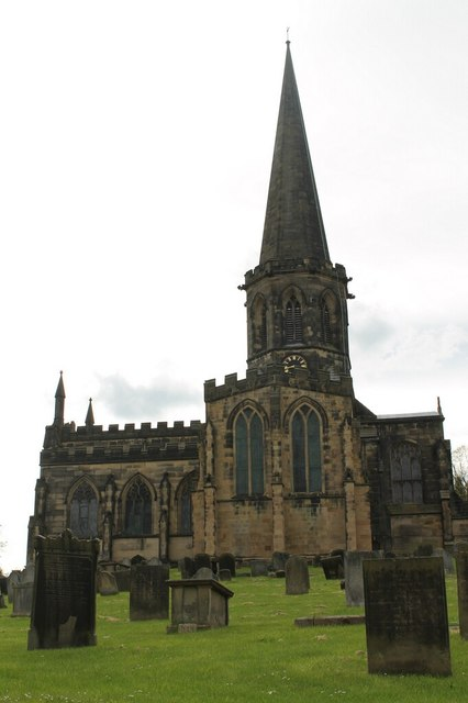 All Saints' church, Bakewell