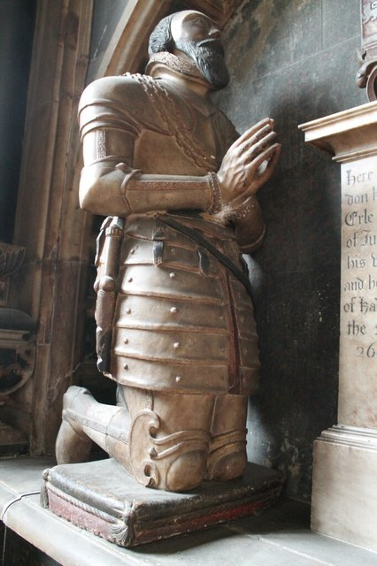 Sir John Manners, memorial, All saints' church, Bakewell