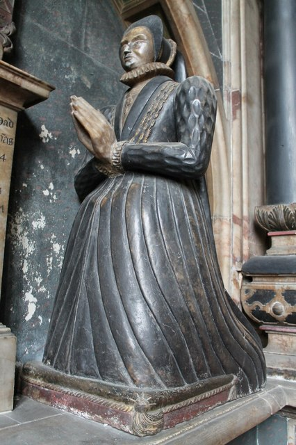 Dorothy Manners (neé Vernon), All Saints' church, Bakewell