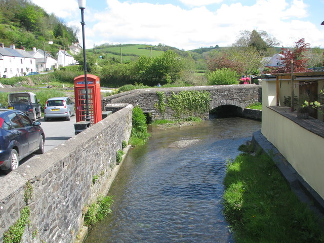 The river in Swimbridge
