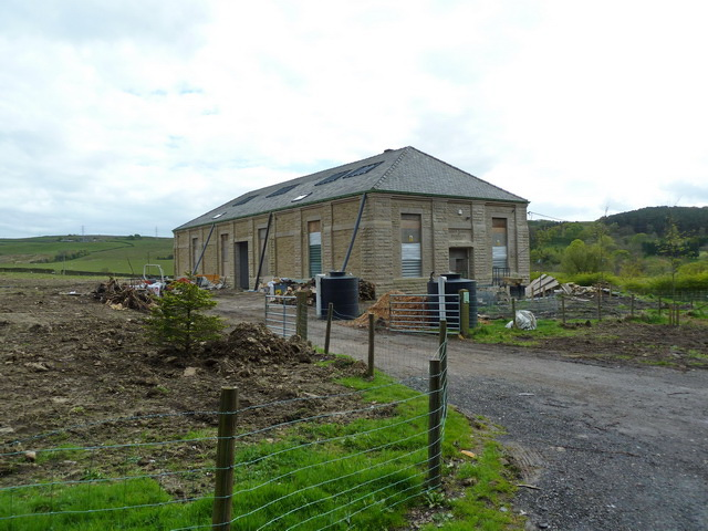 Former filter house for Hurstwood Reservoir