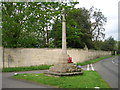 TM0734 : War Memorial, East Bergholt by JThomas