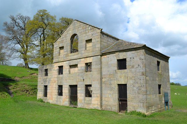 The old mill, Chatsworth Estate