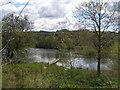 SE2406 : The fishing lake at Gunthwaite Dam by John Slater