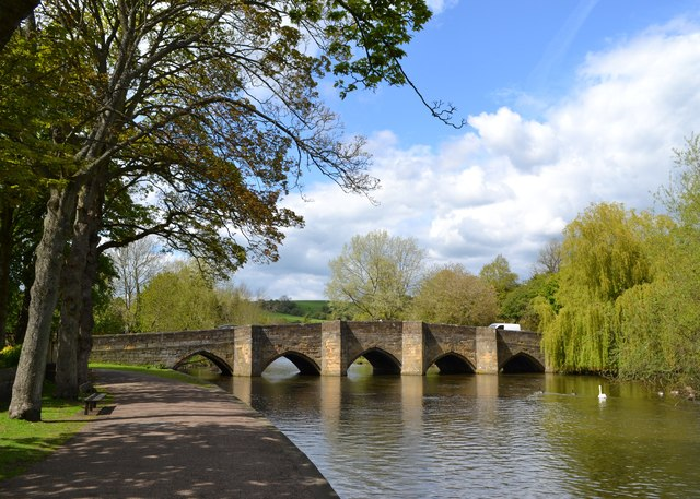 Bakewell's old bridge