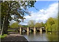 SK2168 : Bakewell's old bridge by Neil Theasby