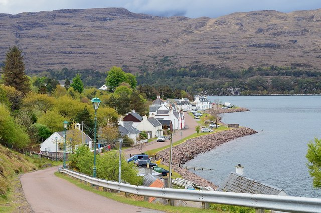Shieldaig from the north