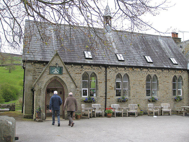 Former school, now a tearoom
