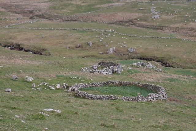 Ruin near Borgh, Barra
