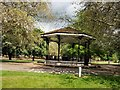 TL0549 : Bandstand - Mill Meadows by Paul Gillett