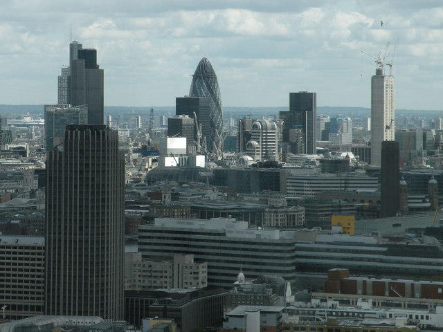 City of London skyline, May 2012