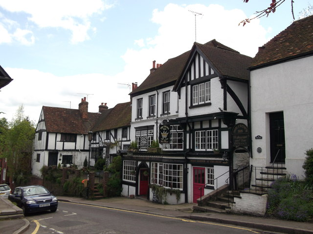 The Crown Inn Old Oxted 169 David Anstiss Cc By Sa 2 0