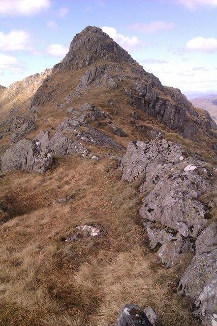 Drium Fiaclach Ridge