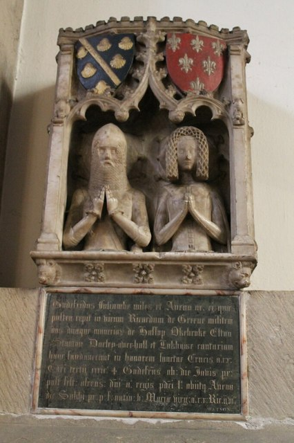 Foljambe Monument, All Saints' church, Bakewell