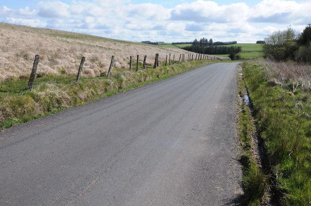 Upland road, Mynydd Wysg