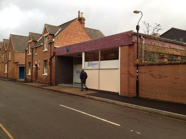 Part of Kingsley School, Beauchamp Road