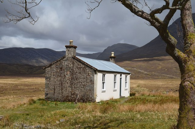 The bothy at Bendronaig Lodge