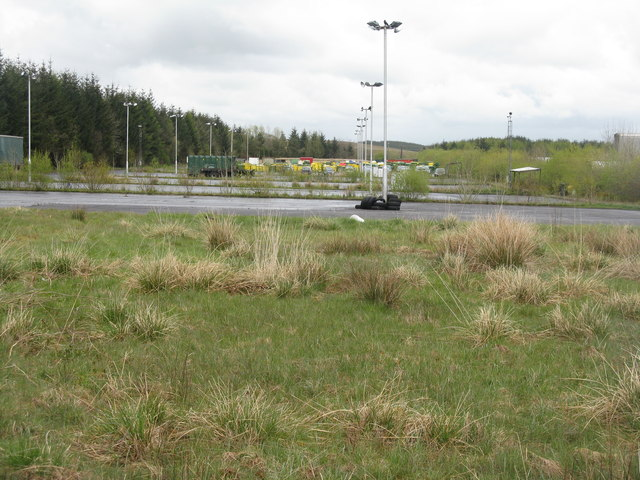 Industrial parking area at Centrelink 5
