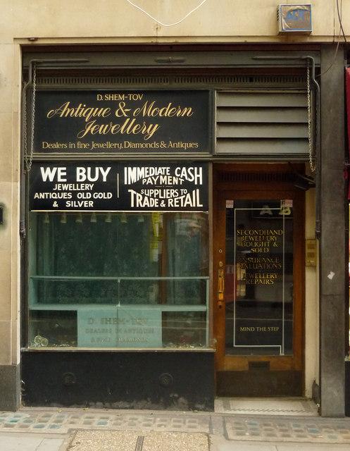 Former jeweller's shop, Greville Street