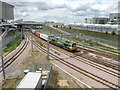 TQ3884 : North London Line at Stratford by Keith Edkins
