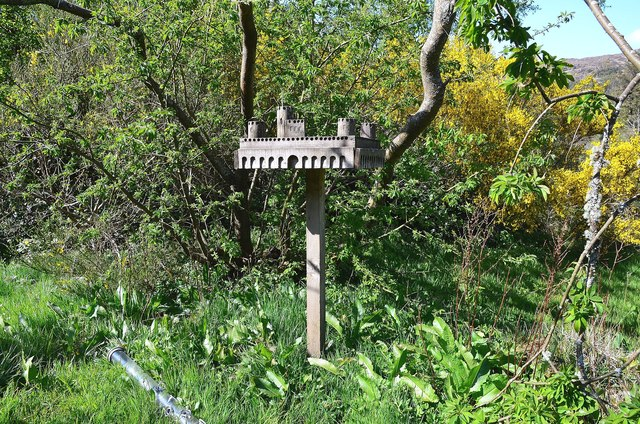 The Castle bird table, Kinloch